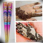 фото набор для рисунков хной от 25.09.2017 №025 - a set for henna drawings - tatufoto.com