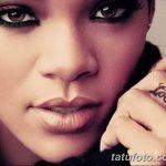 фото татуировки рианны от 23.09.2017 №052 - rianna tattoos - tatufoto.com
