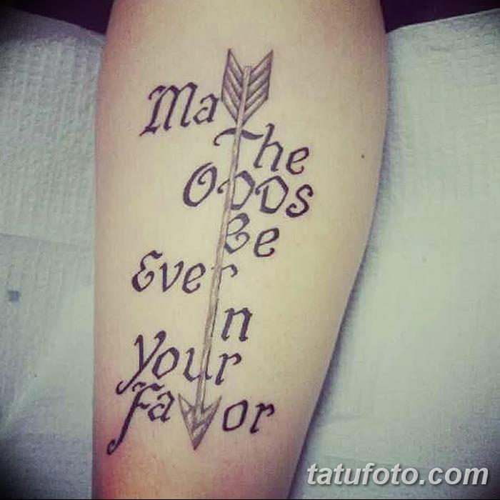 фото тату Сойка пересмешница от 25.09.2017 №074 - Tattoo Hunger Games - tatufoto.com