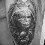 фото тату Сфинкс египет от 29.09.2017 №001 - tattoo sphinx egypt - tatufoto.com