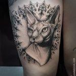 фото тату Сфинкс египет от 29.09.2017 №004 - tattoo sphinx egypt - tatufoto.com