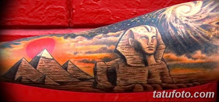 фото тату Сфинкс египет от 29.09.2017 №022 - tattoo sphinx egypt - tatufoto.com