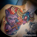 фото тату Сфинкс египет от 29.09.2017 №038 - tattoo sphinx egypt - tatufoto.com