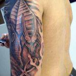 фото тату Сфинкс египет от 29.09.2017 №042 - tattoo sphinx egypt - tatufoto.com