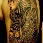 фото тату Сфинкс египет от 29.09.2017 №044 - tattoo sphinx egypt - tatufoto.com
