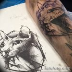 фото тату Сфинкс египет от 29.09.2017 №048 - tattoo sphinx egypt - tatufoto.com