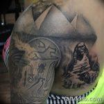 фото тату Сфинкс египет от 29.09.2017 №086 - tattoo sphinx egypt - tatufoto.com