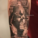 фото тату Сфинкс египет от 29.09.2017 №095 - tattoo sphinx egypt - tatufoto.com