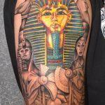 фото тату Сфинкс египет от 29.09.2017 №111 - tattoo sphinx egypt - tatufoto.com