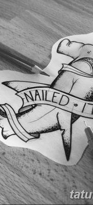 фото тату акула-молот от 25.09.2017 №017 – tattoo hammerhead shark – tatufoto.com