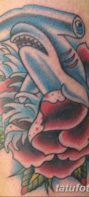 фото тату акула-молот от 25.09.2017 №019 – tattoo hammerhead shark – tatufoto.com