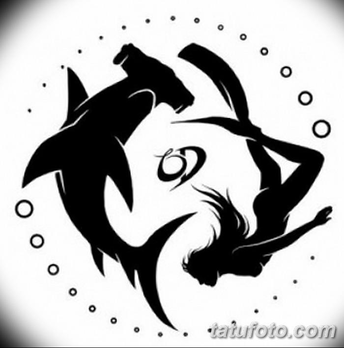 фото тату акула-молот от 25.09.2017 №038 - tattoo hammerhead shark - tatufoto.com