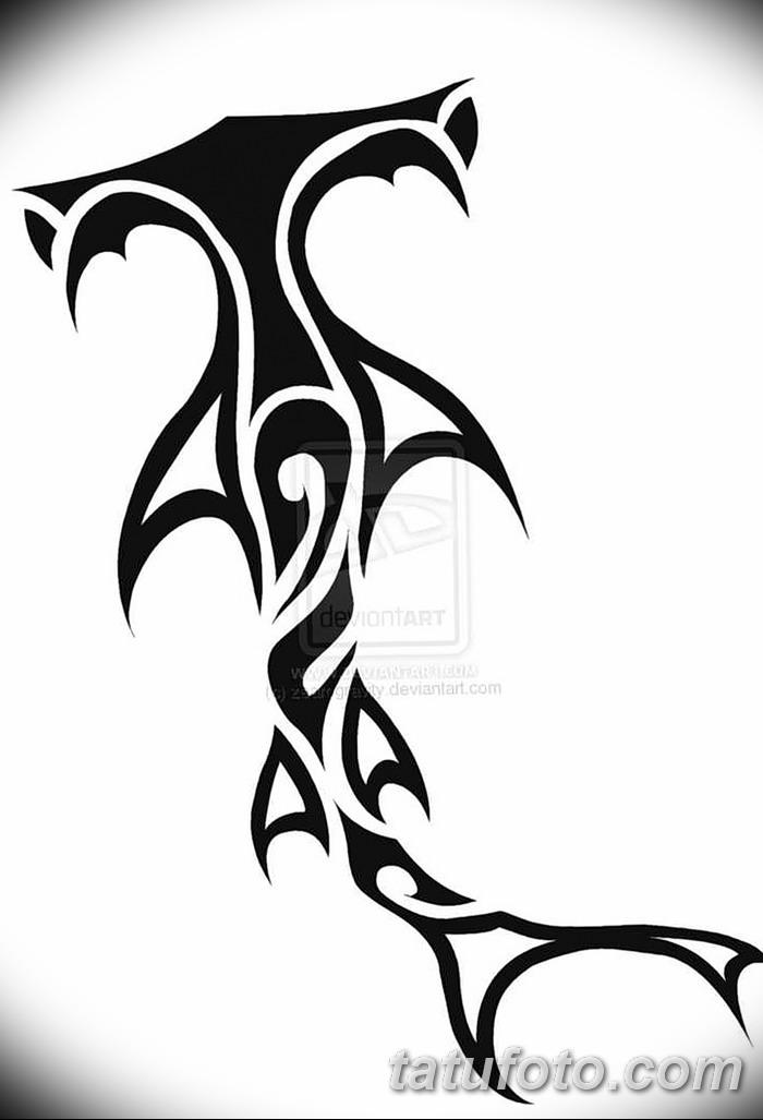 фото тату акула-молот от 25.09.2017 №044 - tattoo hammerhead shark - tatufoto.com