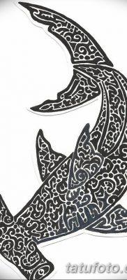 фото тату акула-молот от 25.09.2017 №047 – tattoo hammerhead shark – tatufoto.com
