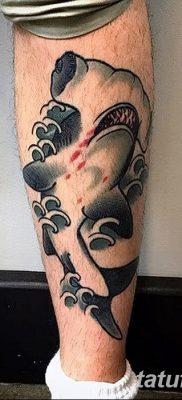 фото тату акула-молот от 25.09.2017 №052 – tattoo hammerhead shark – tatufoto.com
