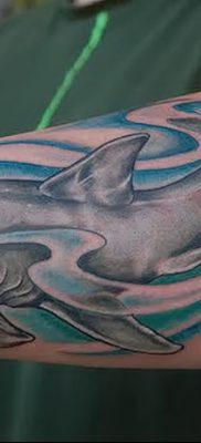 фото тату акула-молот от 25.09.2017 №056 – tattoo hammerhead shark – tatufoto.com
