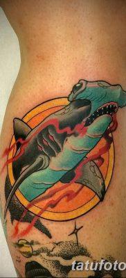 фото тату акула-молот от 25.09.2017 №064 – tattoo hammerhead shark – tatufoto.com