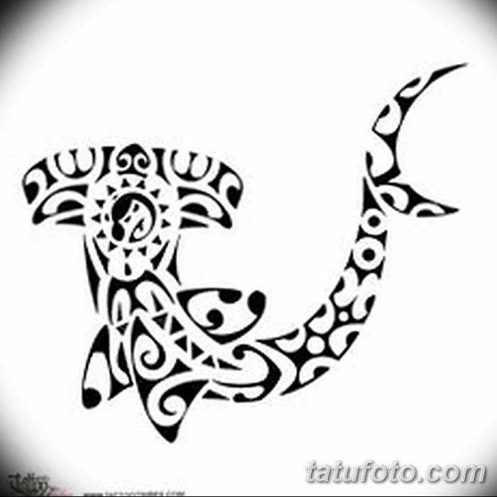 фото тату акула-молот от 25.09.2017 №076 - tattoo hammerhead shark - tatufoto.com