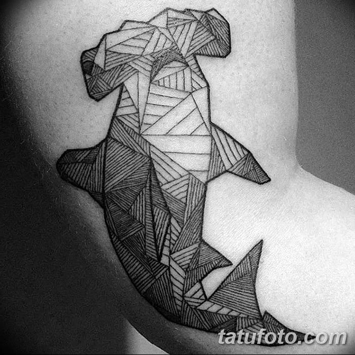 фото тату акула-молот от 25.09.2017 №089 - tattoo hammerhead shark - tatufoto.com