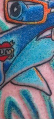 фото тату акула-молот от 25.09.2017 №090 – tattoo hammerhead shark – tatufoto.com