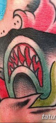 фото тату акула-молот от 25.09.2017 №093 – tattoo hammerhead shark – tatufoto.com
