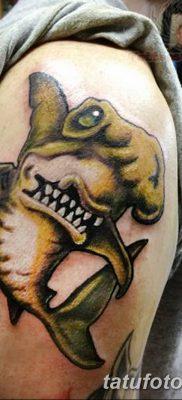 фото тату акула-молот от 25.09.2017 №094 – tattoo hammerhead shark – tatufoto.com
