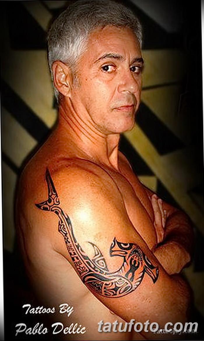 фото тату акула-молот от 25.09.2017 №102 - tattoo hammerhead shark - tatufoto.com