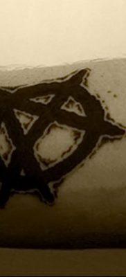 фото тату анархия от 05.09.2017 №050 – tattoo anarchy – tatufoto.com