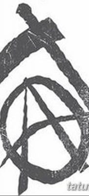 фото тату анархия от 05.09.2017 №059 – tattoo anarchy – tatufoto.com