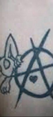фото тату анархия от 05.09.2017 №072 – tattoo anarchy – tatufoto.com