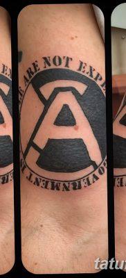 фото тату анархия от 05.09.2017 №073 – tattoo anarchy – tatufoto.com