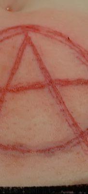 фото тату анархия от 05.09.2017 №083 – tattoo anarchy – tatufoto.com