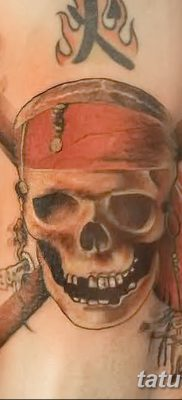 фото тату веселый Роджер от 22.09.2017 №002 – tattoo Jolly Roger – tatufoto.com
