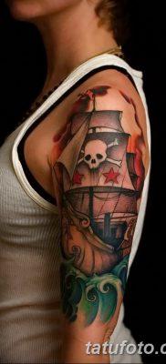 фото тату веселый Роджер от 22.09.2017 №003 – tattoo Jolly Roger – tatufoto.com