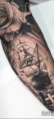 фото тату веселый Роджер от 22.09.2017 №005 – tattoo Jolly Roger – tatufoto.com