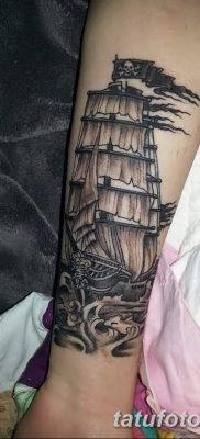 фото тату веселый Роджер от 22.09.2017 №006 – tattoo Jolly Roger – tatufoto.com