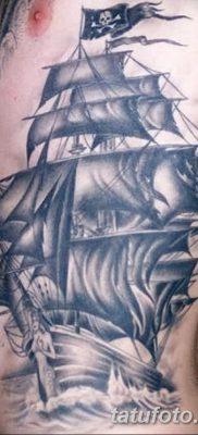 фото тату веселый Роджер от 22.09.2017 №007 – tattoo Jolly Roger – tatufoto.com