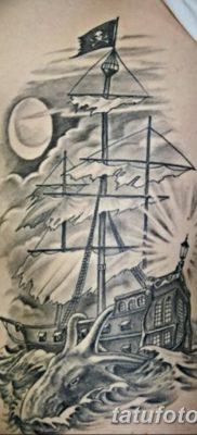 фото тату веселый Роджер от 22.09.2017 №011 – tattoo Jolly Roger – tatufoto.com