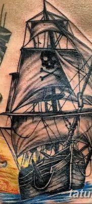 фото тату веселый Роджер от 22.09.2017 №012 – tattoo Jolly Roger – tatufoto.com