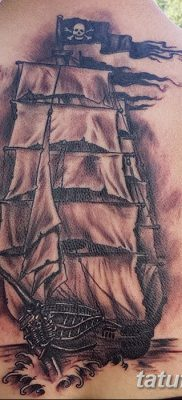 фото тату веселый Роджер от 22.09.2017 №015 – tattoo Jolly Roger – tatufoto.com
