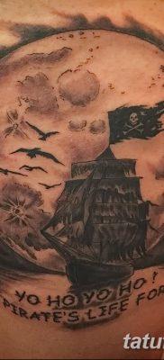 фото тату веселый Роджер от 22.09.2017 №016 – tattoo Jolly Roger – tatufoto.com