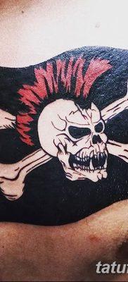 фото тату веселый Роджер от 22.09.2017 №019 – tattoo Jolly Roger – tatufoto.com