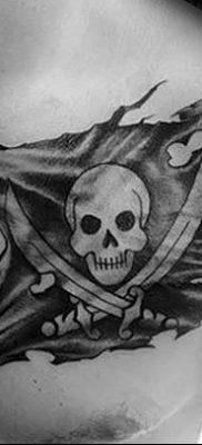 фото тату веселый Роджер от 22.09.2017 №020 – tattoo Jolly Roger – tatufoto.com