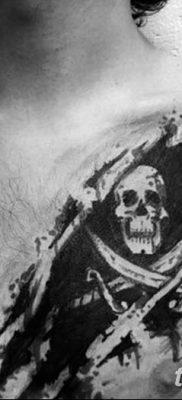 фото тату веселый Роджер от 22.09.2017 №022 – tattoo Jolly Roger – tatufoto.com