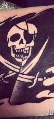 фото тату веселый Роджер от 22.09.2017 №025 – tattoo Jolly Roger – tatufoto.com