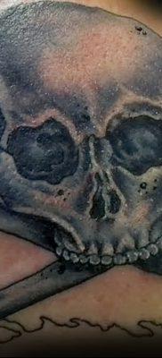 фото тату веселый Роджер от 22.09.2017 №026 – tattoo Jolly Roger – tatufoto.com