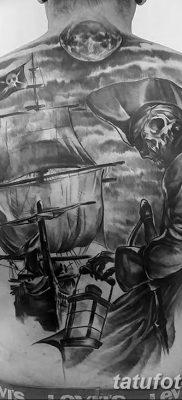фото тату веселый Роджер от 22.09.2017 №028 – tattoo Jolly Roger – tatufoto.com