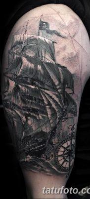фото тату веселый Роджер от 22.09.2017 №035 – tattoo Jolly Roger – tatufoto.com