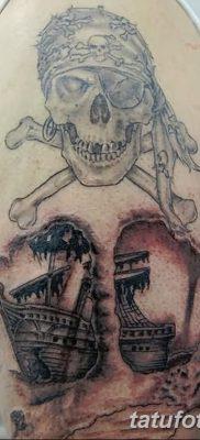 фото тату веселый Роджер от 22.09.2017 №038 – tattoo Jolly Roger – tatufoto.com