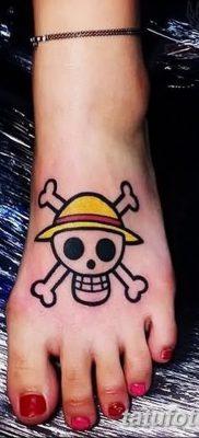 фото тату веселый Роджер от 22.09.2017 №040 – tattoo Jolly Roger – tatufoto.com